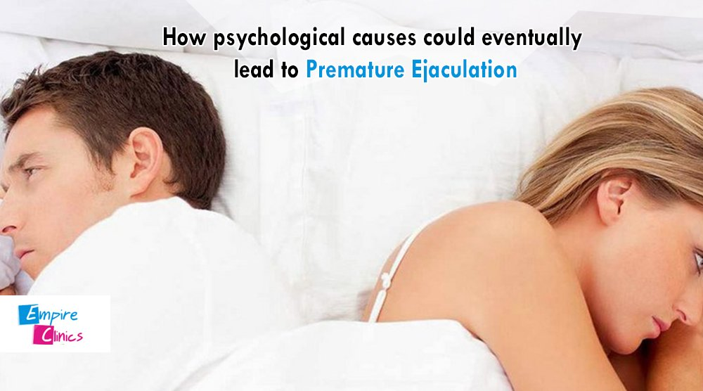 What causes premature ejaculation in men