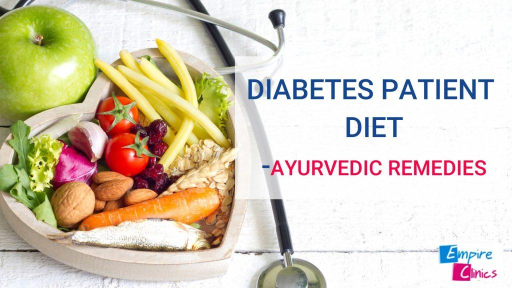 Diabetes Patient Diet plan