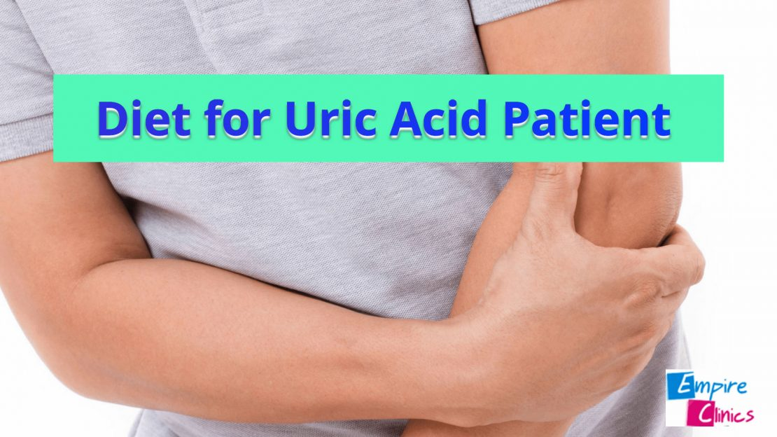 Diet for Uric Acid Patient and Gout Pain
