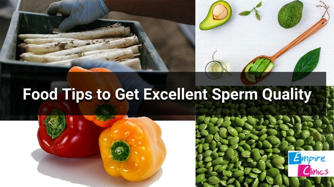 Food tips to get excellent sperm quality