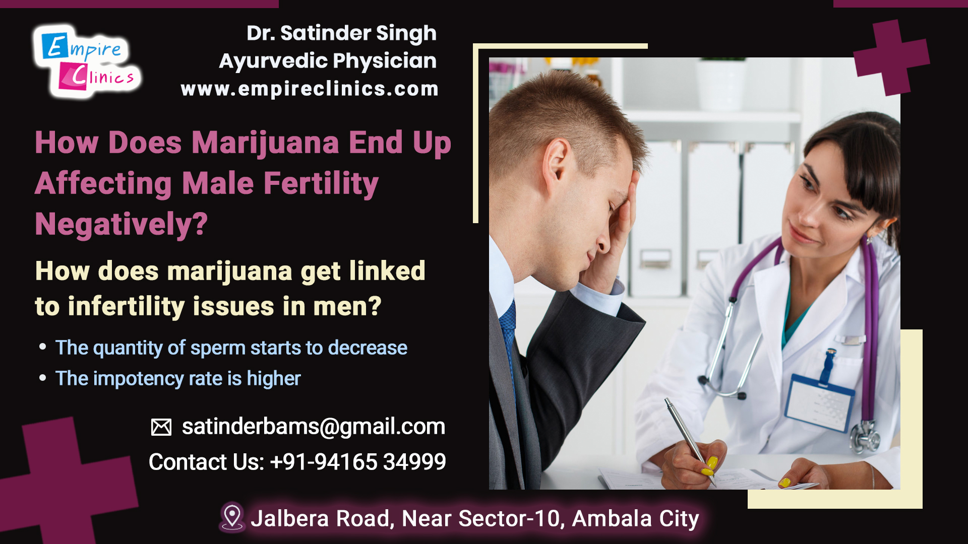 How does Marijuana effects Male Fertility