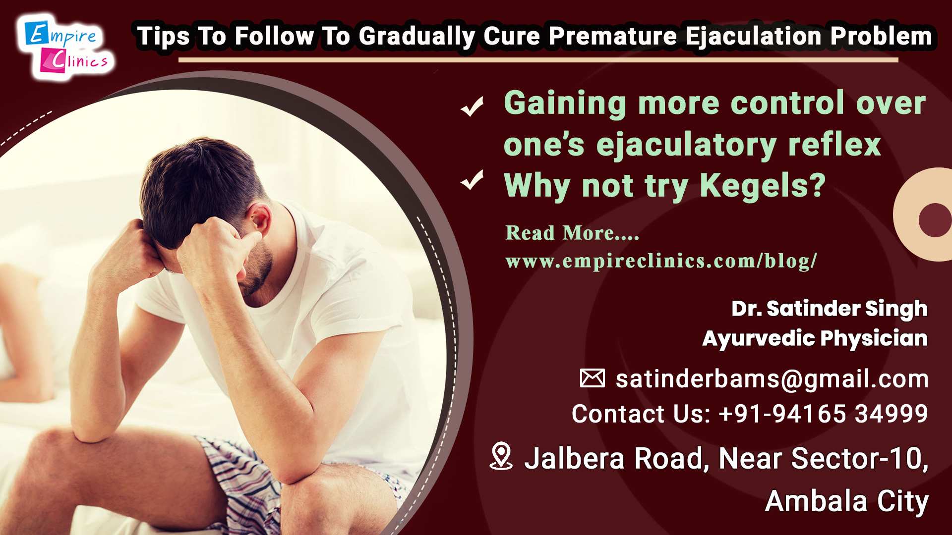 Tips To Follow To Gradually Cure Premature Ejaculation Problem